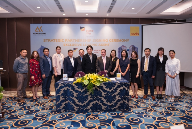 Alpha King and Savills Vietnam Strategic Partnership Signing Ceremony