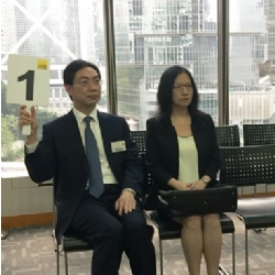Auction for the sale of 9 & 11 Nam Cheong Street, Kowloon - sold at HK$58.5 million