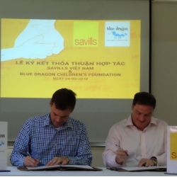 "Savills Vietnam to fund ""Supporting tertiary students to succeed"" programme in Blue Dragon Children's Foundation"