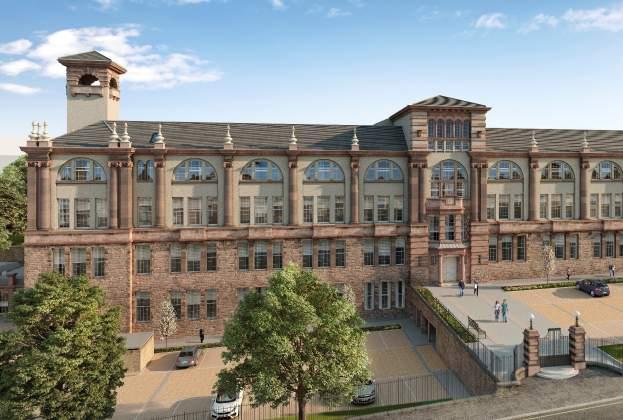 Lofty living on offer at A+ Scottish property development