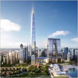 729米:国内第一高楼!凭栏中南中心顶,尽览繁华!