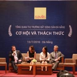 Savills báo cáo tình hình thị trường Bất động sản Đà Nẵng tháng 7/2016