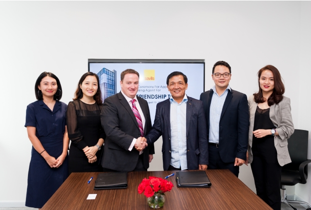 Savills Vietnam appointed as Exclusive Leasing Agent for Friendship Tower