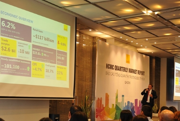 Savills report on HCMC real estate market Q4/2016