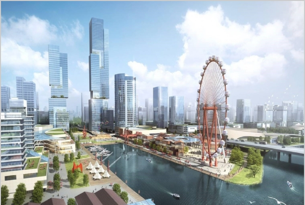 """昆山发布""""五区一线""""规划,推动城市发展""""全新一跃"""""""