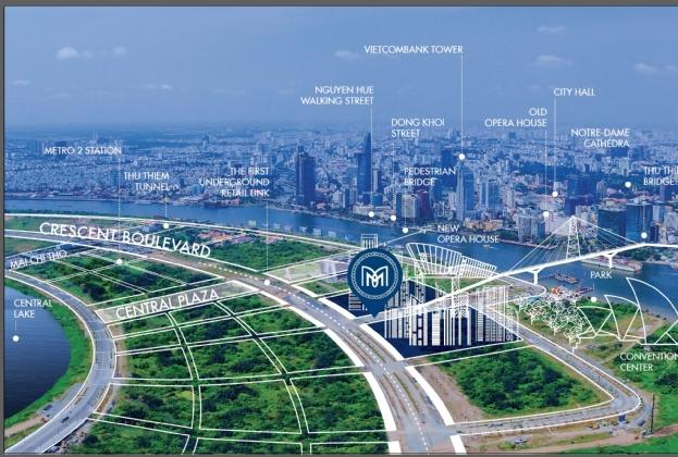Savills Việt Nam được bổ nhiệm là đơn vị phân phối chính thức cho dự án The Metropole Thủ Thiêm