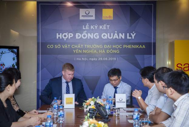 Savills Vietnam to manage Phenikaa University