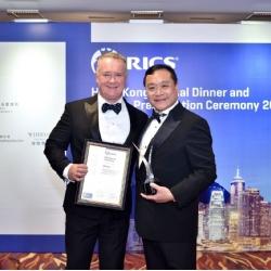 第一太平戴維斯榮獲2017年RICS 香港年度大獎「最佳成交獎」