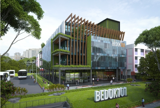 Bedok 101 Potential Commercial Redevelopment in Mature Estate