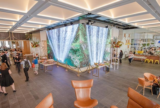 ISPT foyer brings the outdoors in