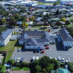Former officers' mess at Wigram Air Base on the market