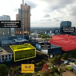 Prime Box Hill Site to Fetch $10m
