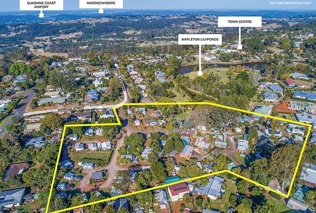 Sunshine Coast holiday park presents prime development opportunity