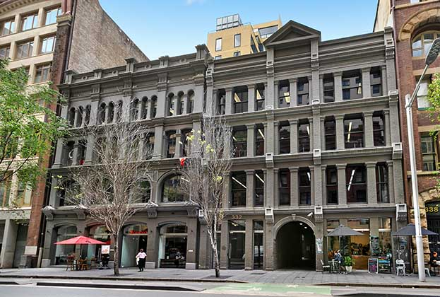 Lease of Level 2, 332 Kent Street, Sydney