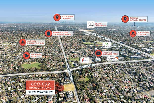 Glen Waverley childcare development site sells for $2,350,000