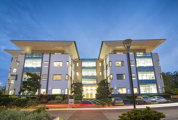 Occupiers establish corporate identity in Brisbane office park accommodation