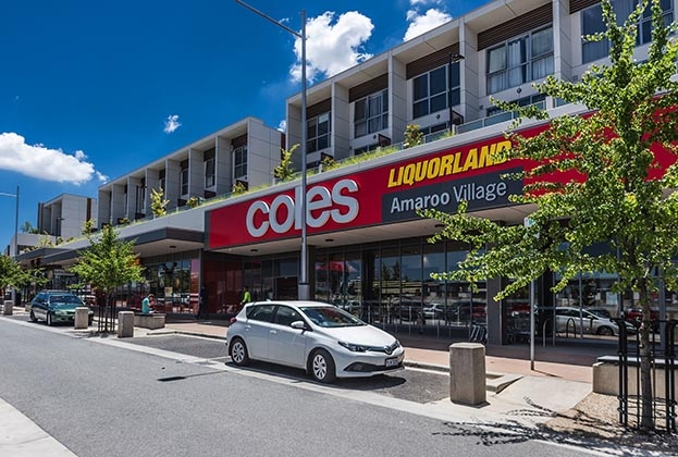 Coles to sell rare Canberra shopping centre