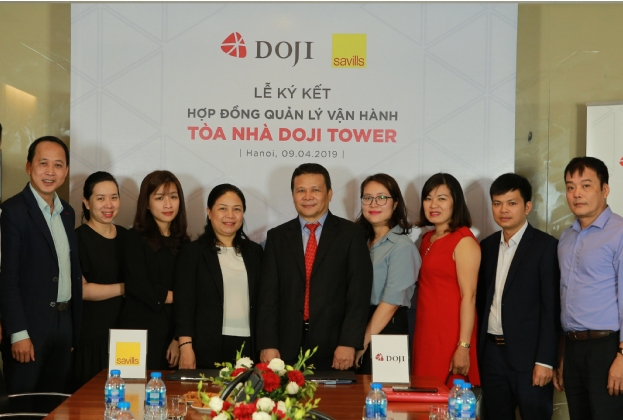 Savills Vietnam named Property Manager of DOJI Tower
