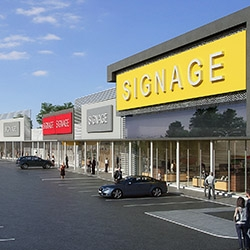 Prime retail development to generate tenant contest