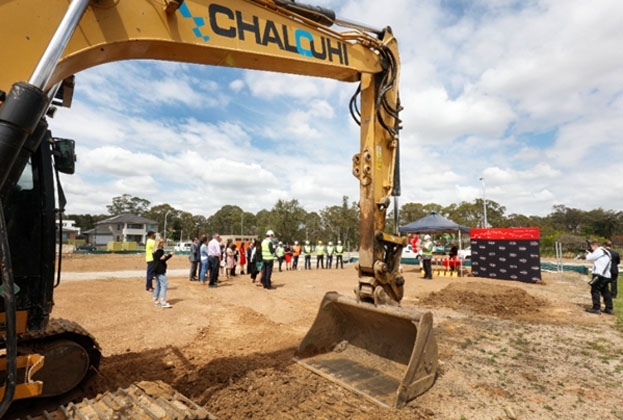Peony Place Stage 2 & 3 by Boill broke ground in Kellyville