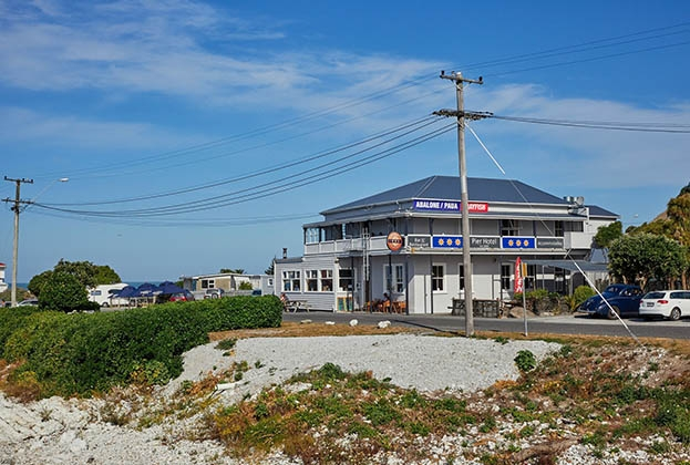 Kaikoura's iconic waterfront Pier Hotel for sale