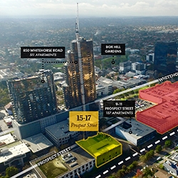Box Hill Boom Continues - Site Sells for $12.2m