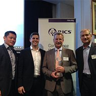 Savills Project Management Wins RICS Australian Project Management Team of the Year