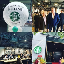 Savills proudly announces the opening of the first Starbucks Reserve store in Hanoi CBD