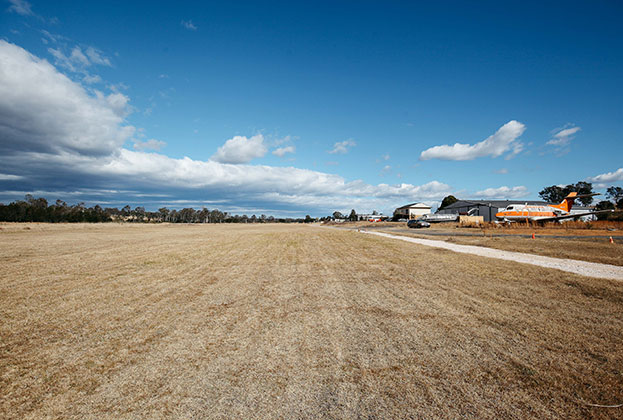 Up, Up and Away - The Oaks Airport up for sale for the first time in 44 years