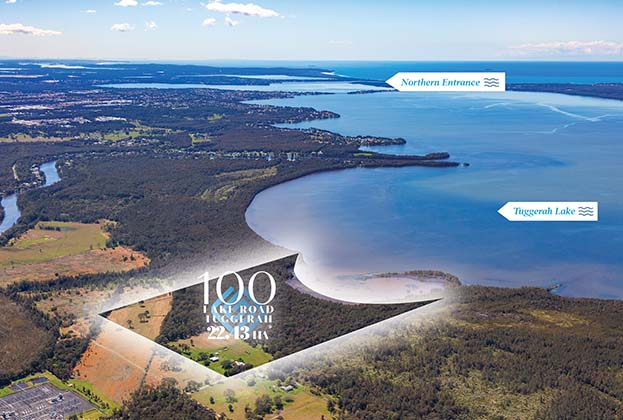 Largest privately owned waterfront land holding on the Central Coast hits the market for the first time in 150 years