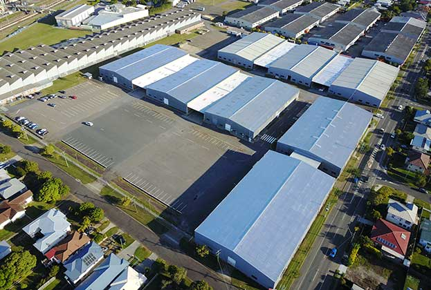 Strong leasing take up in Virginia Industrial Estate