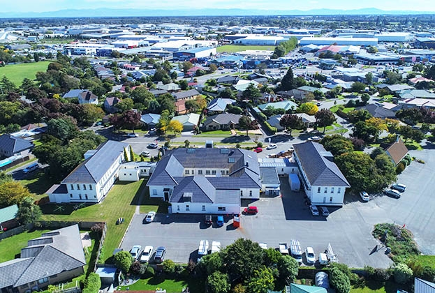 Former officers' mess at Wigram Air Base sold