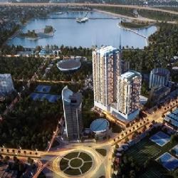 Lần đầu tiên ra mắt căn hộ tòa B – Sky Park Residence