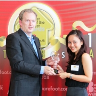 Savills awarded the Best International Real Estate Consultancy 2013 by Squarefoot.com.hk