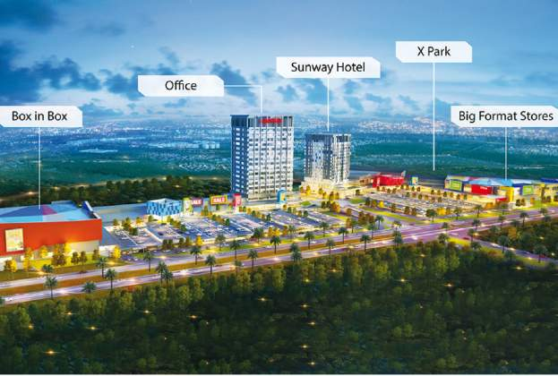 Sunway Plans for More Malls
