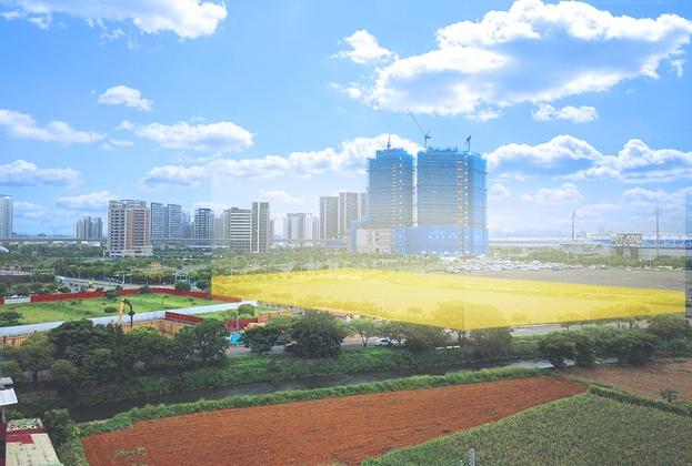 高速鐵路桃園車站特定區計畫青芝段162、163地號國際觀光旅館設定地上權案