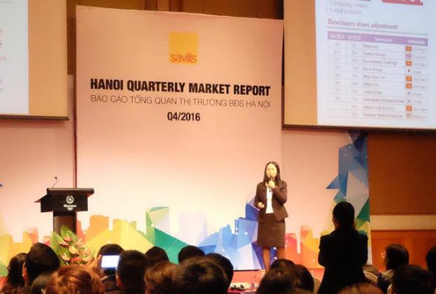 Savills Vietnam report on Hanoi real estate market Q4/2016