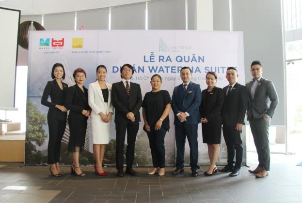 Savills Việt Nam được bổ nhiệm là đơn vị phân phối chính thức cho dự án Waterina Suites và có giỏ hàng độc quyền